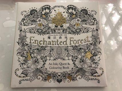 🚚 Enchanted Forest Colouring Book
