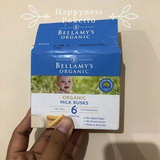 Bellamy's Organic Milk Rusks