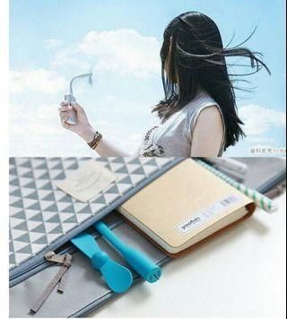 🚚 💖特價/(6支)竹蜻蜓 USB風扇 迷妳風扇 小風扇 隨身風扇 夏天必備
