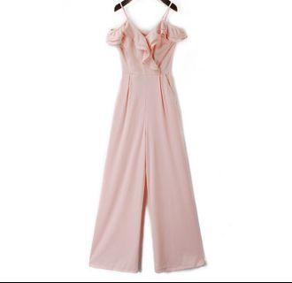Lovely pink jumpsuit