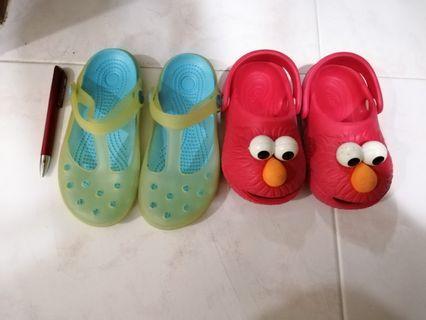 [FREE] Kids shoes (Polliwalks Elmo sesame street) #endgameYourExcess
