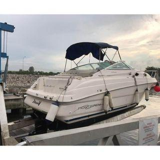 Used boat Monterey 262 CR cheaper then buy a house with cabin sell $58000, call 97535908