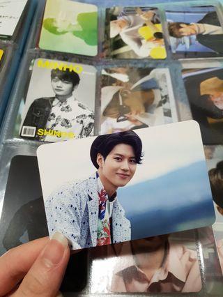 SHINee Taemin Lucky Star Official Photocard (Japanese Press)
