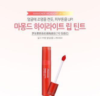 Mamonde Highlight Lip Tint No 7 Main Title