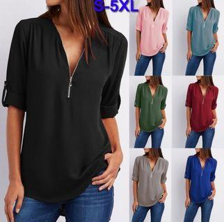 Best Of Dimple's Work Winning Chiffon Blouse/es In Various Colours