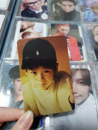 SHINee Taemin 1 and 1 Official Photocard