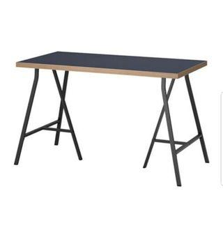 Ikea Desk Linnmon Lerberg