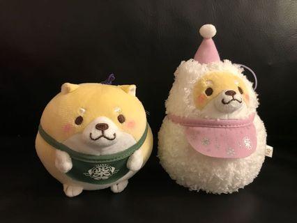 日本 柴犬 公仔