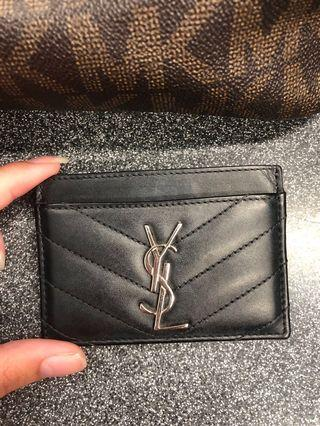 Authentic YSL card holder