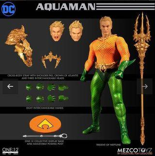 🚚 Mezco Toyz - One:12 Collective Aquaman (Not Hot Toys)