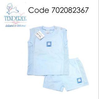 [0~18 MTHS] TENDERLY SLEEVELESS/BERMUDA OR PANT SUIT ( 702082367 )