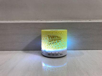 Music LED Mini Bluetooth Speaker