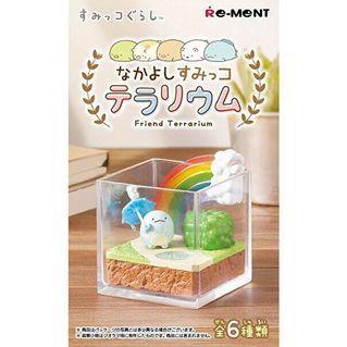 角落小夥伴角落生物日本帶回全新盒玩瓶中造景療癒擺飾企鵝海灘