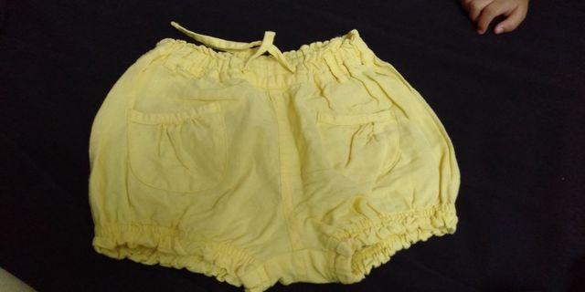 pumpkin patch yellow shorts