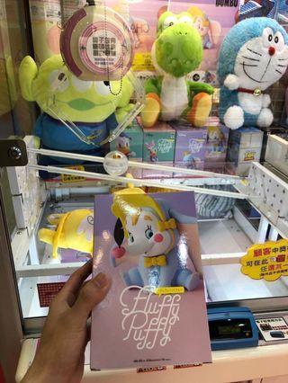 日版 小飛象 Dumbo figure fluffy puffy(景品 模型 擺設裝飾 Disney 迪士尼 Namco Benpresto)