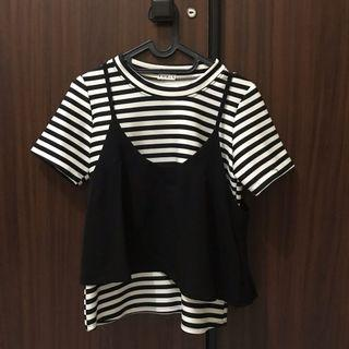 Black Stripes Top