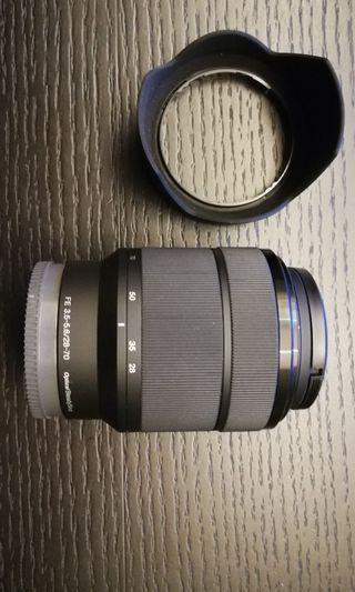 Sony FE 28-70mm.