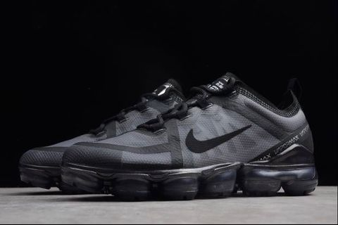 2756dc58ffb0 🌊BRAND NEW🌊 NIKE AIR VAPORMAX FLYKNIT MIDNIGHT FOG   TRIPLE BLACK ...