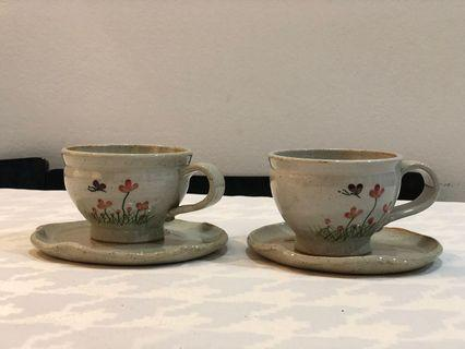 Porcelain Cup and plate