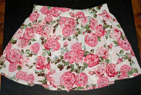 🚚 Floral Chiffon Skort (2 colors) #EndGameYourExcess