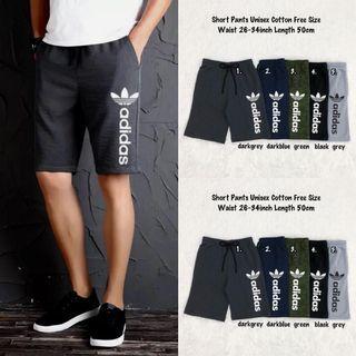 Adidas short sweatpants