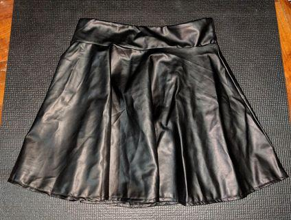 🚚 Pleather Skater Skirt (2 colors) #EndGameYourExcess