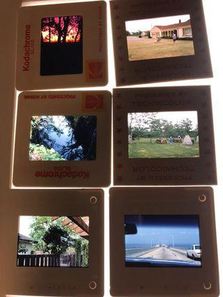 Slides kodak color transparency ektachrome 幻燈片 60 至 80 年代