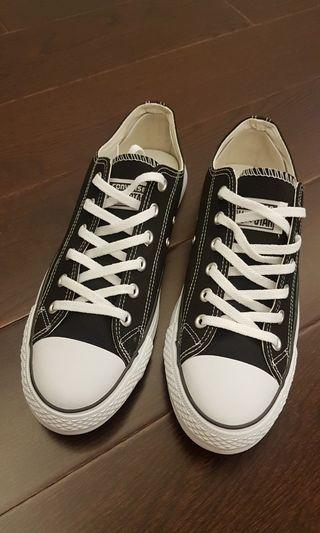 Brand New Black Canvas Shoes