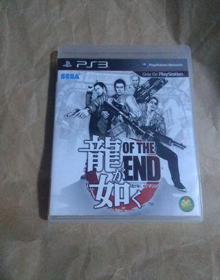 中古二手 PS3 遊戲 GAME 人中之龍 The and  日文字幕 動作遊戲