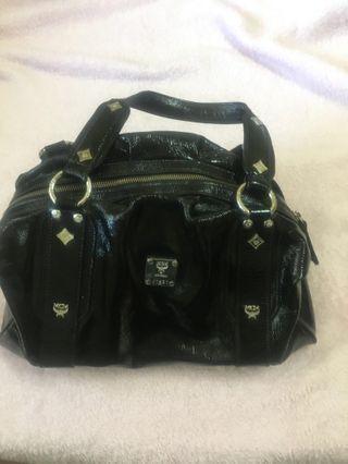 MCM black bag - REPRICED