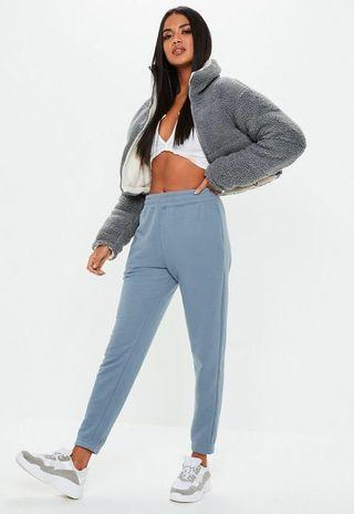 Missguided slim high waisted joggers