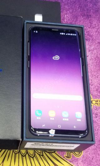 samsung s8 64gb original 97%new 100%work gray 2sim 行貨灰色雙卡