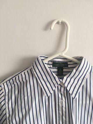 Ralph Lauren Striped Button-Up