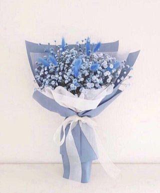 🌟Premium Blue Baby Breathe Bouquet