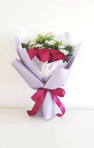 🌟Premium Red Rose Bouquet