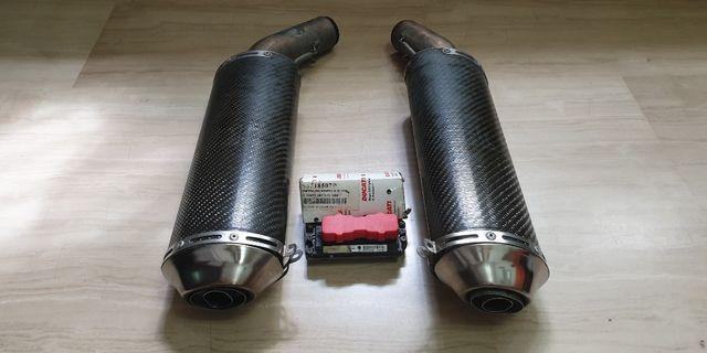 Ducati 1098 used Termi slip on with ECU