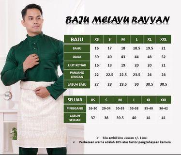 Baju Melayu Rayyan
