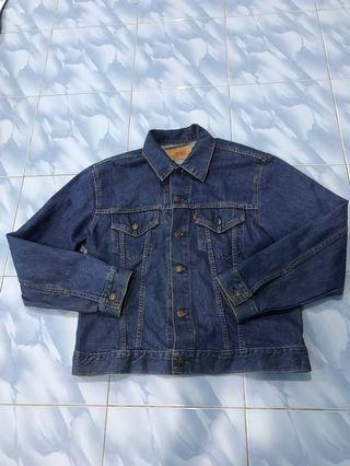 Vintage Levis Trucking Jacket 80s made in USA