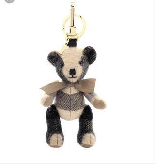 Burberry bear charm
