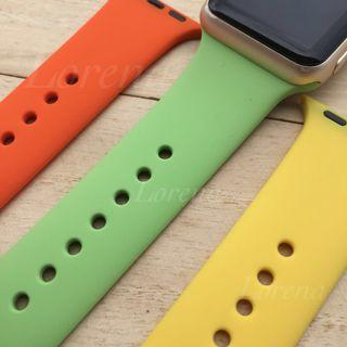 Any 3 Replacement Rubber Straps / Band for Apple Watch $30
