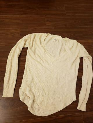 Wilfred silk cashmere sweater ivory xs