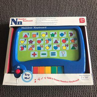 Number Keyboard - Talk'n Learn Number Keyboard