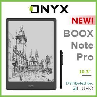 """🚚 [BNIB] ONYX BOOX Note Pro - 10.3"""" Android E-Reader with Frontlight & Wacom Stylus + FREE Cover"""