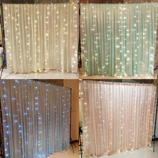 Dessert Table Backdrop Veil Curtain [RENTAL]