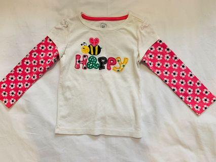 Baby GAP Toddler T-shirt Long sleeve 2T