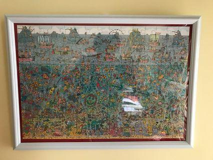 Find Wally 180 puzzle