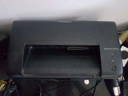 Printer laserjet fujixerox docuprint p215b