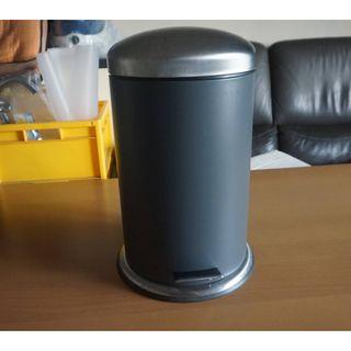 Ikea step bin 2.1 litres grey color