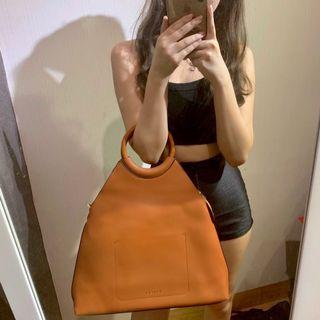 vincci brown bag