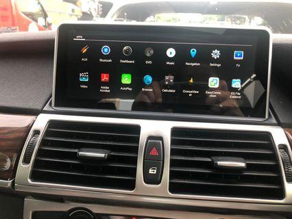 BMW Android Auto/Apple CarPlay Touch Screen Head up display